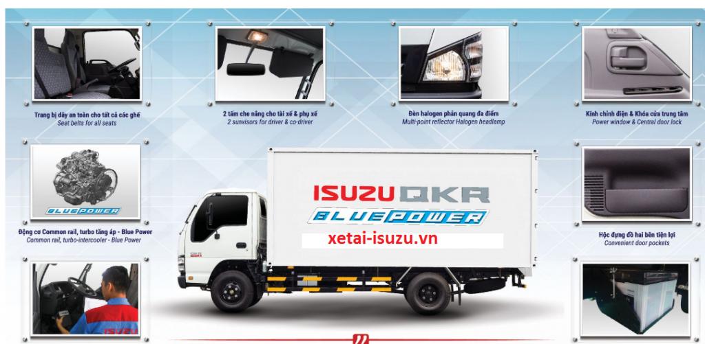 bảng giá xe tải isuzu 2020 -2021