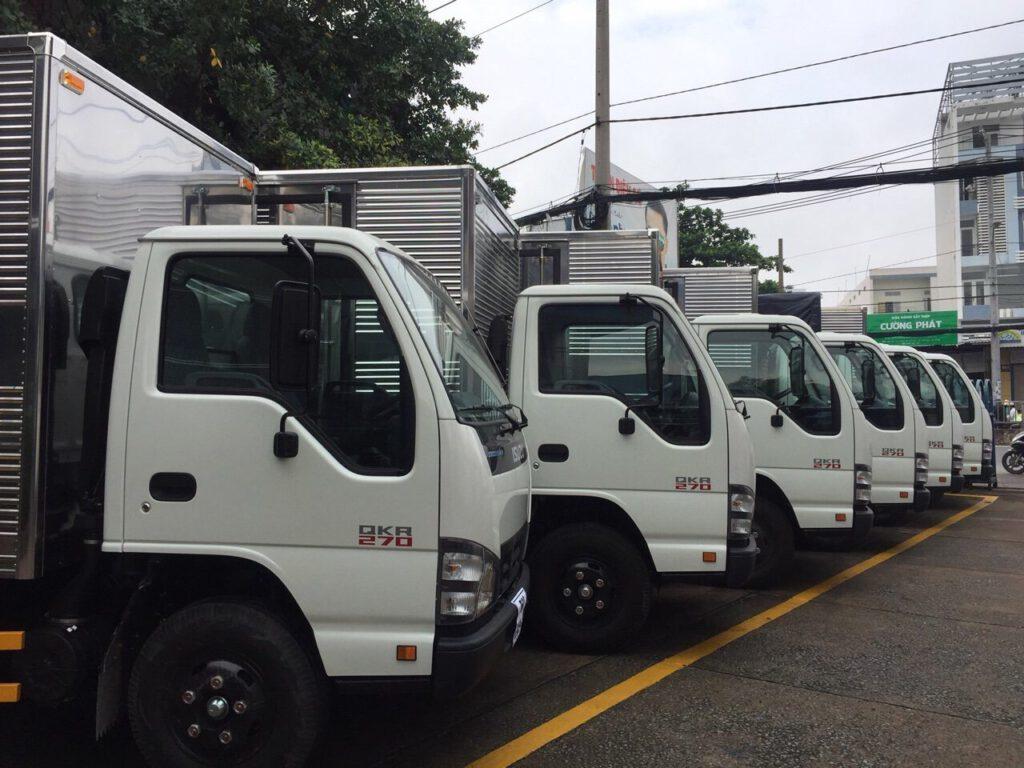 xe tải 25 tấn - xe tải 10 tấn, xe tải isuzu quận